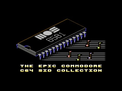 The Epic Commodore C64 SID Collection - 11 hours of C64 Music