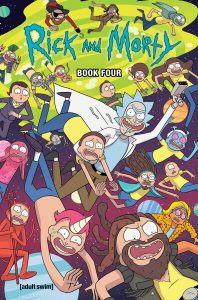 Rick And Morty Deluxe Hardcover Book Four